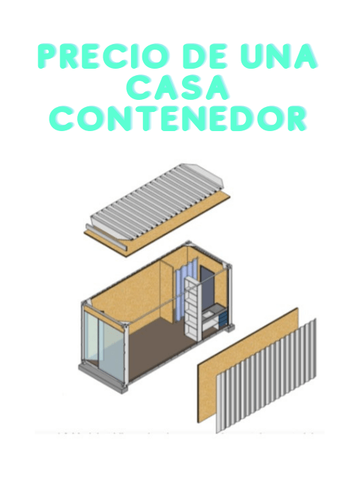 Precio de una casa contenedor
