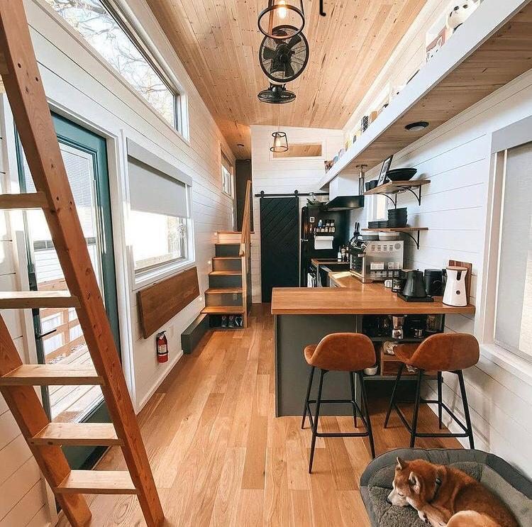 casa contenedor interior, Casa contenedor diseño interior