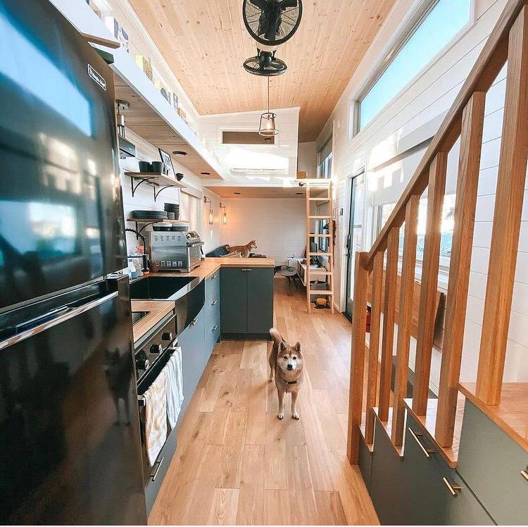 casa contenedor interior, Diseño interior de casa contenedor